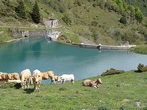 Bagnères-de-Bigorre - The Castillon Dam at La Mongie