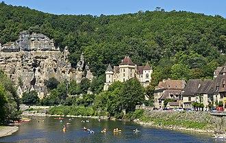 Dordogne - Image: La Roque Gageac 1