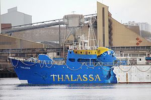 La Thalassa's last trip - La Thalassa front.jpg