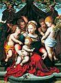 La Virgen del Lirio, atribuida a Cornelis van Cleve (Banco de España).jpg