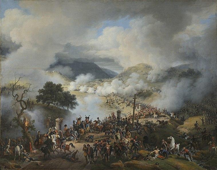 La bataille de Somo-Sierra Louis-François, Baron Lejeune