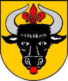 Coat of arms of the city of Laage
