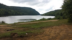 Grandes-Piles, Quebec - Image: Lac Roberge Grandes Piles 2014 08 17 (3)