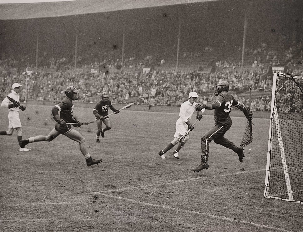 Lacrosse at the Olympics, London, 1948. (7649951098)