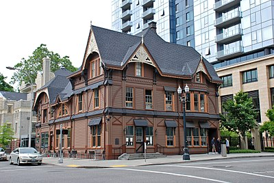 Ladd Carriage House, downtown Portland Ladd Carriage House in 2014.jpg