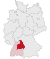 Lage des Regierungsbezirkes Stuttgart in Deutschland.png