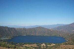 Santa María del Oro, Nayarit - Crater lake
