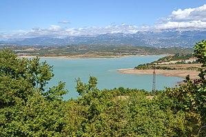 Mat (river) - Image: Lake Ulza, Albania
