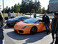 Lamborghinis on display at UW (4047332645).jpg