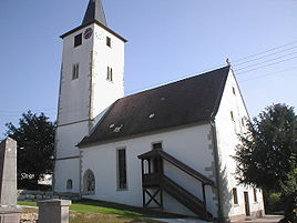 Church in Lampoldshausen