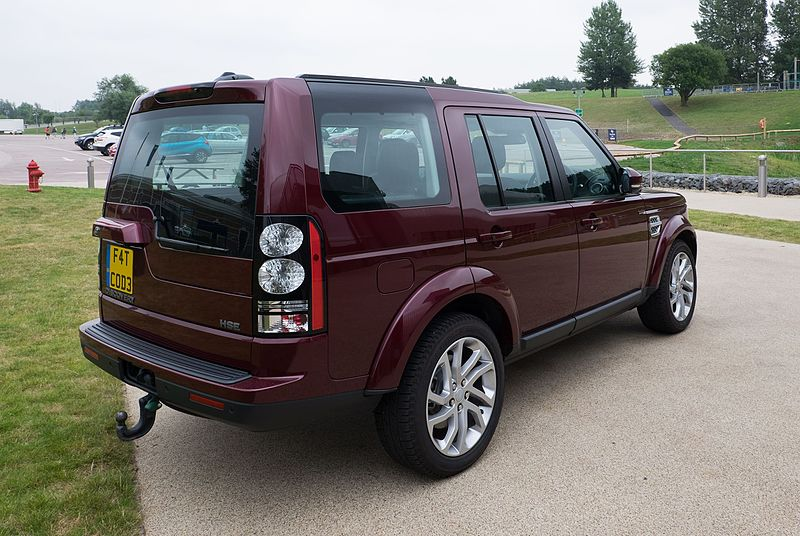 File:Land Rover Discovery 4 HSE 2016 - rear.jpg