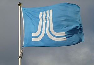 Stockholm County Council - County council flag
