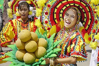 Camiguin - Lanzones Festival, where the lanzones fruit is celebrated by the whole island every third week Of October in Mambajao