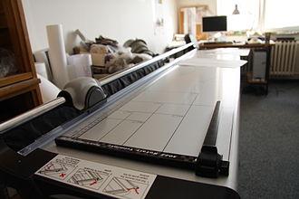 Paper cutter - Large format paper cutter