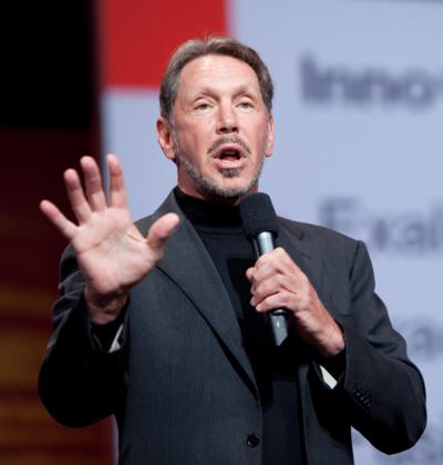 Larry Ellison, American internet entrepreneur and businessman
