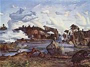 Skogtjern (Forest Lake). Oil on canvas, 1865.