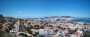 Panorama von Las Palmas