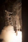 Launch of Falcon 9 carrying CRS-5 Dragon (16077174554).jpg