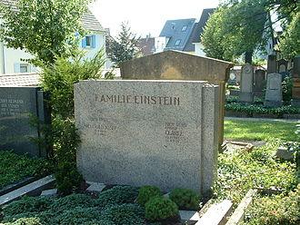 Siegfried Einstein - Siegfried Einstein's grave in Laupheim