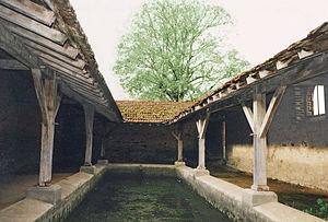 Buxières-sur-Arce - Lavoir (wash house)