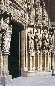 Portada de la Catedral de León.