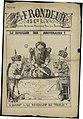 Le Frondeur « Le reveillon des souverains ! » par François Maréchal 1884.jpg
