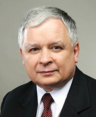 2001 Polish parliamentary election - Image: Lech Kaczyński