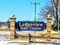 Ledgeview, Wisconsin Golf Course Sign.jpg