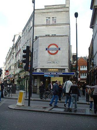 Leicester Square tube station - Image: Leicester Square Tube Station