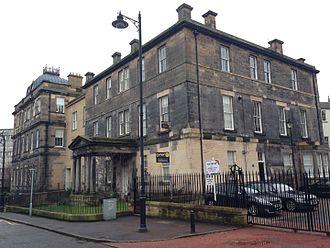 Leith Hospital - Leith Hospital from Mill Lane