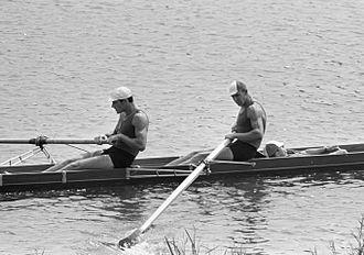 Igor Rudakov - Rudakov (lying down) with Leonid Rakovshchik (left) and Nikolay Safronov in 1964