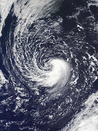 Subtropical cyclone - Subtropical Storm Leslie in September 2018