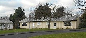 Prefabs in the United Kingdom - Hawksley-built bungalows in Letchworth, 2014