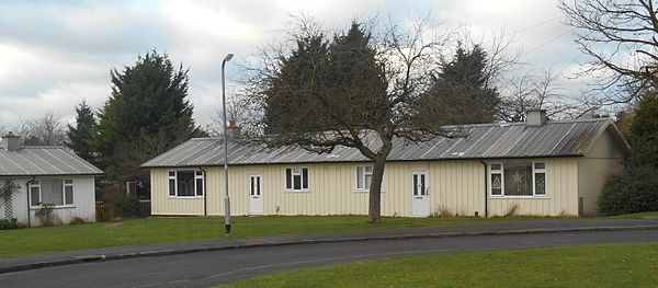 Hawksley-built bungalows in Letchworth, 2014
