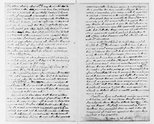 Newburgh letter - Lewis Nicola to George Washington, May 22, 1782, with Observations