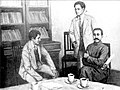 Li Dazhao with comintern agent G.N. Voitinsky.jpg
