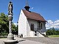 Liebfrauenkapelle & Mariensäule - Stadtpfarrkirche-Schlossgasse 2011-07-02 14-51-50 ShiftN3.jpg