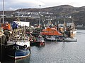 Lifeboat station in Mallaig harbour - geograph.org.uk - 365322.jpg