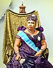 Queen Liliʻuokalani, last monarch of the Kingdom of Hawaii
