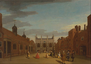 Lincoln's Inn, the Chapel, and Old Hall, London