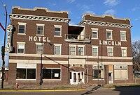 Lincoln Hotel (Franklin, Nebraska) from E.JPG