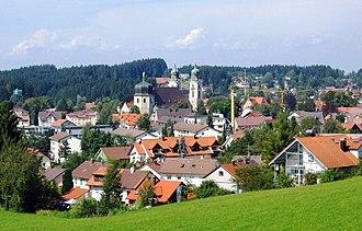 Lindenberg im Allgäu - View of the town