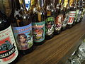 Lineup of Costa Rica bottled craft beers.JPG