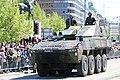Lippujuhlan päivän 2017 paraati 084 Patria AMV XA-361 AMOS Ps 545-3.JPG