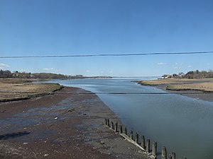Little Neck Bay - The southern end of Little Neck Bay