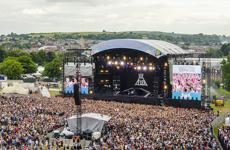 Liz Murray Photography - Isle of Wight Festival 2014 - Big Wheel View 09 main stage