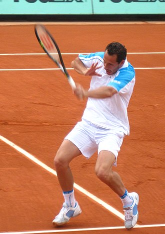Michaël Llodra - Llodra at the 2009 French Open.