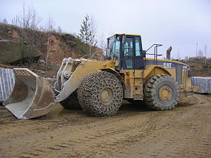 Loader in a granite quarry near the village of Kamiana Hora.jpg