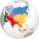 Einteilung Asiens nach den Vereinten Nationen
