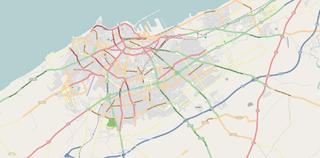Anfa District of Casablanca in Casablanca-Settat, Morocco